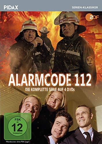 Alarmcode 112 / Die komplette 13-teilige Serie (Pidax Serien-Klassiker) [4 DVDs]