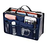 Trifycore Convenient Dual Zippers Handbag Multifunctional Sorting Makeup Bag Portable Luggage...