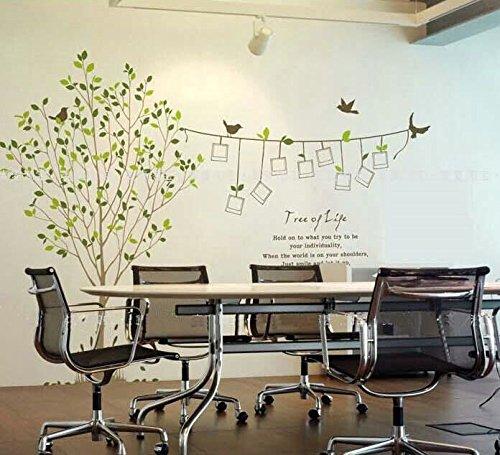 Sypure (TM) el env¨ªo libre del marco creativo memoria la foto del ¨¢rbol de bricolaje engomadas de la pared del papel pintado Sala de TV / contexto del sof¨¢ de la decoraci¨®n mural de la etiqueta LM8001