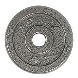Delta Elite Döküm Plaka, Gri, 2 x 2 kg