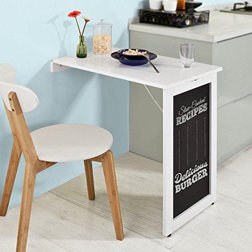 Mesas cocina abatibles pared affordable mesa de cocina de - Mesa abatible carrefour ...