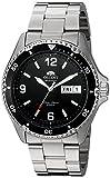 Reloj de plata de cuerda manual Mako II Orient para hombres, análogo,...