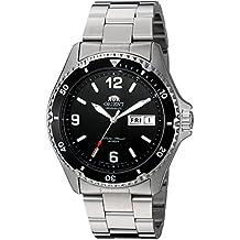 Orient de hombre faa02001b9Mako II analógico automático Hand-Winding plateado reloj