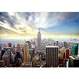 Tapisserie Photo New York 396 x 280 cm Laine papier peint Salon Chambre Bureau Couloir décoration Peinture murale décor mural moderne - 100% FABRIQUÉ EN ALLEMAGNE - 9005012a