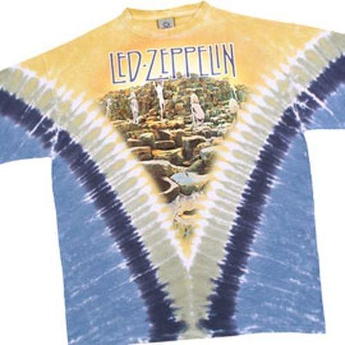 T-Shirt Led Zeppelin - Houses Of The Holy V X Large - Import direct USA