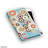 Universal Handy Tasche Cover Case Hülle Etui Schutz Schutztasche Mandala - L - Für kompatible Samsung Modelle - (Bulk)