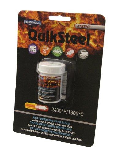 Preisvergleich Produktbild Auspuffreparaturmasse, hitzebeständig und modellierbar -ThermoSteel für Metallreparaturen, Füllmenge: 82,5 g