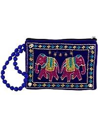 A R Sales Women's Wristlet (Blue, AR_BAG160)