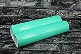 Teckwrap Auto Folie Camouflage Tarnfolie 10,52€/m² Luftkanäle Blasenfrei Verlegen (Tiffany Blue Glanz 1m x152cm)
