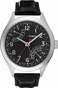 Reloj de caballero Timex Classic T2N502 de cuarzo, correa de piel color negro de Timex Portugal