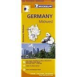 Germany Midwest (Michelin Regional Maps)