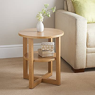 Oak Table Side Hall Lamp Plant Consol Tall Coffee Wine Hallway Furniture Small - inexpensive UK light shop.