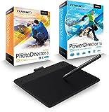 Wacom Intuos Art Pen & Touch M Grafiktablett inkl. CyberLink PhotoDirector 8 & PowerDirector 15 Ultra Duo (Vollversionen