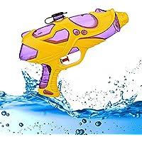 PluieSoleil Pistola de Agua Azul y rojo Juguetes y Juegos Aire Libre y Deportes Para Niños
