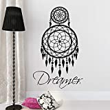 56x91cm pegatinas de pared para salon Inicio Decoracion retro Dreamer Catcher Wall Decal vinilo pegatina decoracion del dormitorio