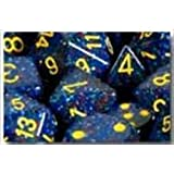 Chessex Manufacturing 25366 Twilight Speckled Polyhedral Dice Set Of 7 by Chessex Manufacturing
