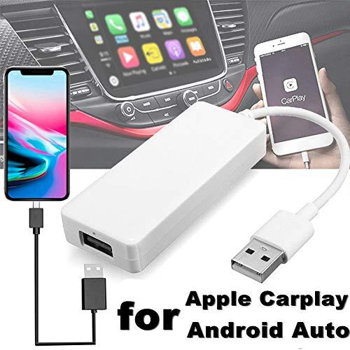 USB Android Navigation Player Smart Link Dongle para CarPlay Android Auto  Car Kit, soporta control táctil y de voz, navegación GPS, enviar mensaje y