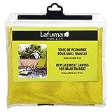 Lafuma Toile Batyline pour chaise longue Maxi Transat, Largeur: 58 cm, Couleur: Citrus, LFM2655-8554