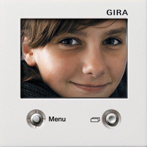 Preisvergleich Produktbild Gira 1286112 TFT-Farbdisplay Flächenschalter reinweiß glänzend