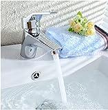 5151BUYWORLD top qualità rubinetto in ottone cromato materiale bagno caldo e freddo rubinetto lavandino miscelatore Tapfor Kitchen Home Gaden