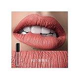 CHENYAJUAN Matt Samt Nebel Gesicht Lippen Glasur Lip Gloss Nicht Beflecken Nicht Gefärbt Mit Glas Wasserdicht Und Robust Lippenstift. Sieben