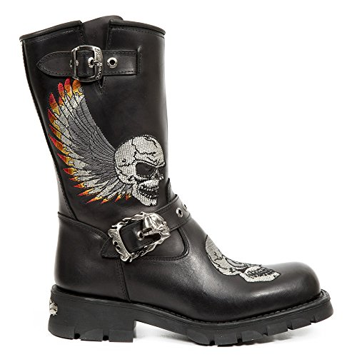 New Rock M.7642-S1 Black