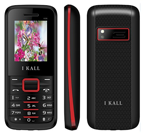 I Kall Multimedia Mobile Phone K88 Red