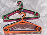 12 PC RING HANGERS,PANT,SHIRT,DRESS,SKIR...