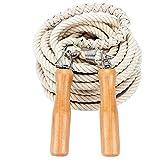 CZ-XING Springseil für Mehrspieler, langes Seil, 5 m – 7 m – 10 m, Gruppen, Springen und Multiplayer-Seil Springen, 7 Meters