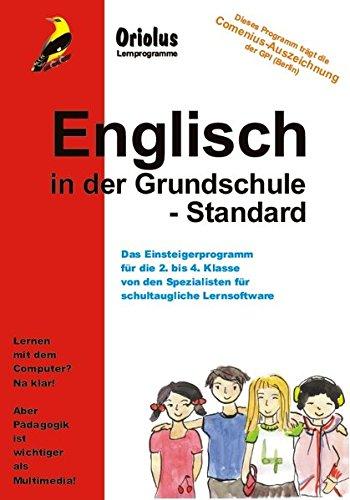 Englisch in der Grundschule - Standard - Schullizenz für PC 5 Jahre, updatefähig: Lernprogramm für die 2. bis 4. Klasse - Grundschule/Primarschule für Windows 7-10ff, macOS und Netzwerk