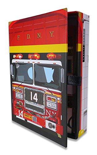 New Yorker Feuerwehr Boxed Grußkarten, Orchideenmotiv von Leslie Gerry