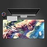 Tappetino per mouse animato di alta qualità resistente all'usura pad di stampa accessori per tastiera pad 700x300x2mm