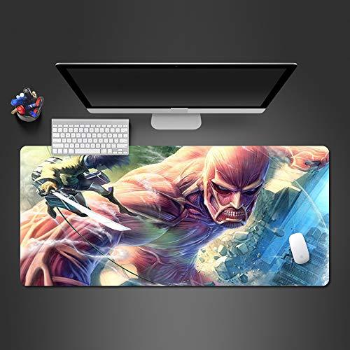 Animiertes Mauspad Hochwertiges verschleißfestes Druckpad Spielzubehör Tastaturpad 800x300x2mm