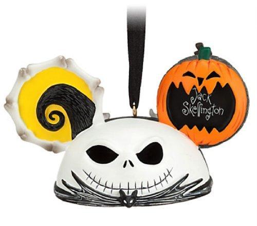 Jack Skellington and Zero Ear Hat Disney Ornament-Nightmare Before Christmas by Disney