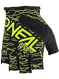 O'Neal Gants Doigts Less Wired Jaune Fluo Vélo VTT DH FR Enduro BMX VTT, 0374-00,...