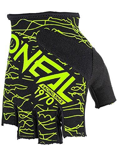 O'Neal Fingerless Wired Neon Gelb Handschuhe Fahrrad MTB DH BMX FR Enduro Mountain Bike, 0374-00, Größe S