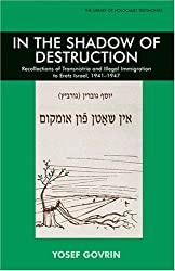 In the Shadow of Destruction: Recollections of Transnistria and Illegal Immigration to Eretz Israel (Library of Holocaust Testimoni) (Library of Holocaust Testimonies (Paperback))