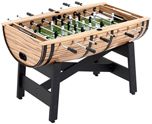 Mightymast Leisure 5ft BARREL Professional Table Football Foosball - Oak