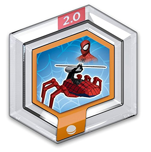 sap-media Disney Infinity Power Discs 1.0 Wave 1,2,3 & RARES, Works with 2.0 & 3.0#1 Marvel - Spider Copter (Marvels Power Disc)