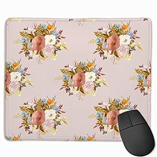 Autumn Love - Blush_75457 Mouse pad Custom Gaming Mousepad Nonslip Rubber Backing 9.8