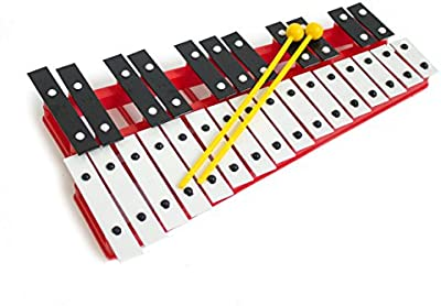 1to1music Red27V - Glockenspiel con 27 notas