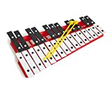 Pro Kussion Xylophone chromatique 27 clefs rouge