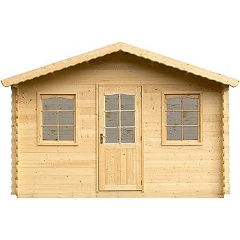 Alpholz Gartenhaus Diest Aus Fichten Holz Gartenhutte Mit