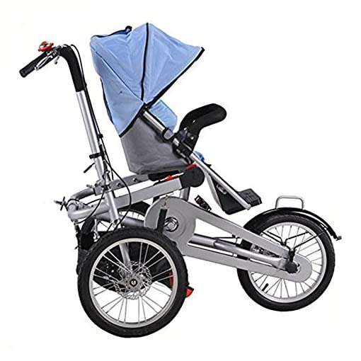Mother'sBicycleBabyStroller16 inch Pushchair3Wheel BikeFolding Child Cargo Bicycle MBTS01 51htJpAr3sL