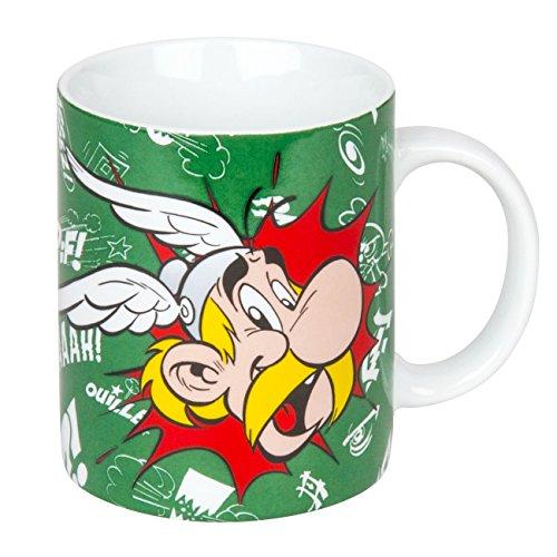 Könitz Asterix Kaffeebecher, Porzellan,