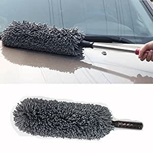 Goodway Sophisticated & Adustable Microfiber Duster(Assorted Colour) for Hyundai Elantra
