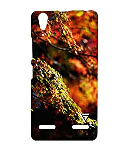 Vogueshell Colorful Tree Printed Symmetry PRO Series Hard Back Case for Lenovo A6000