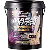 MuscleTech Mass Tech Extreme Vanilla Milkshake Weight Gainer, 22 Pound - 51htMT3%2BgHL. SS166