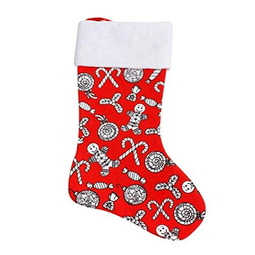 n Dekore Geschenk Tasche Socke Dekoration Süßigkeiten Paket Weihnachtsbaum Ornament, 40 x 23cm (B) (Superhelden-ostereier)