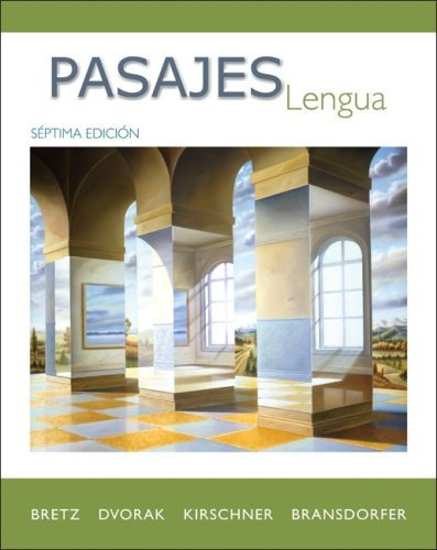 Pasajes: Lengua (Student Edition) by Mary Lee Bretz (2009-01-27)